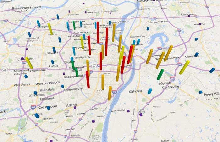 Crime Ranking: St. Louis vs. KansasCity